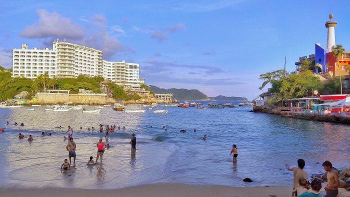 Playa Caleta y Caletilla en Acapulco