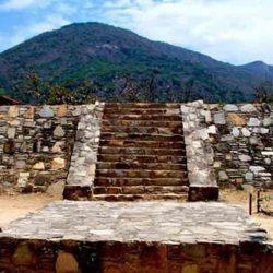 Zona arqueológica Palma Sola en Acapulco